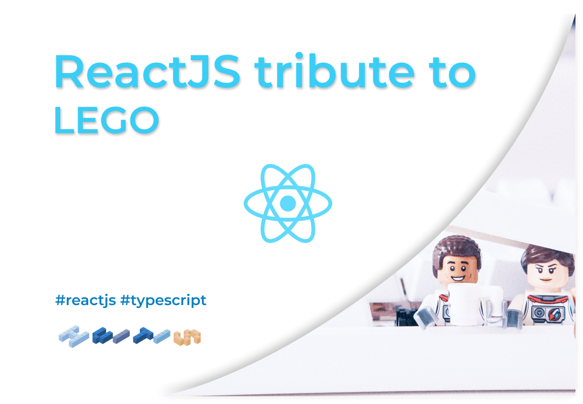 Write your name in LEGO - ReactJS tribute to the company.